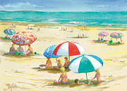 Ray Cole - Beach Umbrellas
