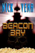 Paperback Cover Design Posters - Beacon Bay Poster by Mike Nellums