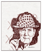 Bear Bryant Art - Bear by Jerrett Dornbusch