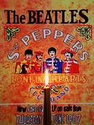 Beatlemania Prints - Beatles Worship Print by Marjudy Royo