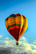 Balloon Aircraft Framed Prints - Beautiful Balloon Framed Print by Robert Bales