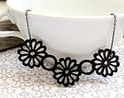 Blossom Jewelry - Beautiful Bouquet Necklace by Rony Bank