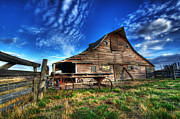 Alberta Landscape Photos - Beauty Of Barns 8 by Bob Christopher