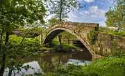 Packhorse Prints - Beggars Bridge Print by Trevor Kersley
