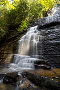 Tn Prints - Benton Falls Print by Debra and Dave Vanderlaan
