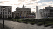Berlin - Brandenburg Gate Print by Gregory Dyer