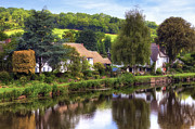 English Cottages Prints - Bickleigh - Devon Print by Joana Kruse
