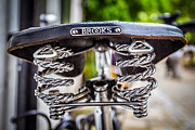 Brooks Photos - Bicycle Seat. by Gary Gillette