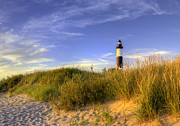 Ludington State Park Posters - Big Sable Lighthouse Poster by Twenty Two North Photography