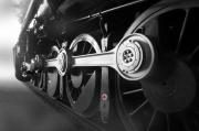 Steam And Smoke Prints - Big Wheels Print by Mike McGlothlen