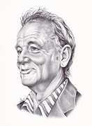 Bill Murray Framed Prints - Bill Murray Framed Print by Jamie Warkentin
