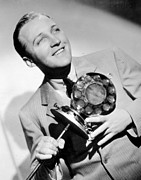 Bing Art - Bing Crosby Poster by Sanely Great