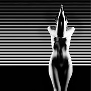 Black And White Artistic Nude Print by Dan Comaniciu