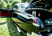 Winery Signs Prints - Black Cadillac Print by Sharon Thompson