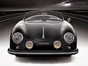 Automotive Digital Art - Black Speedster by Douglas Pittman