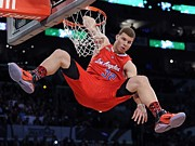 Dunk Photo Metal Prints - Blake Griffin Poster Metal Print by Sanely Great