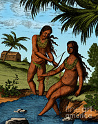 Bloodletting Native Central American Print by Science Source