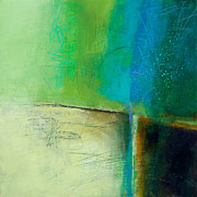 Blue 2 Print by Jane Davies