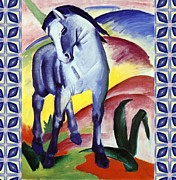Franz Mark - Blue Horse I by Franz Marc