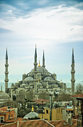 Byzantine Art - Blue Mosque 03 by Antony McAulay