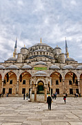 Byzantine Art - Blue Mosque 05 by Antony McAulay