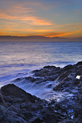 Almeria Prints - Blue sea Print by Guido Montanes Castillo