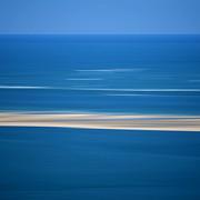 Blurred Sea Print by Bernard Jaubert