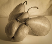 Bosc Prints - Bosc Pears 3 Print by Paul Haist