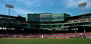 Red Sox Metal Prints - Bostons Gem Metal Print by Paul Mangold