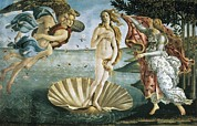 The Art Of Venus Framed Prints - Botticelli, Alessandro Di Mariano Dei Framed Print by Everett