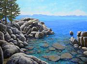 Frank Wilson - Boulder Cove On Lake Tahoe