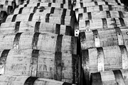 Cellar Photos - Bourbon barrels by Alexey Stiop