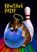 Jeanette K - Bowling Party Sheltie Puppy