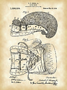 Punch Digital Art Prints - Boxing Glove Patent Print by Stephen Younts
