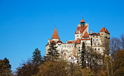 Dracula Framed Prints - Bran Castle Framed Print by Gabriela Insuratelu