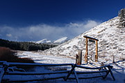Colorado Mountains Prints - Breckenridge Colorado Ranch Print by Michael J Bauer