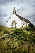 Brittany Photos - Breton church by Elena Elisseeva