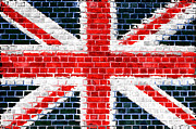 Old Wall Posters - Brick Wall Britain Poster by Antony McAulay