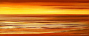 Sunsets Original Paintings - Brushed 3 by Gina De Gorna