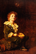 Delacroix Prints - Bubbles Sir John Everett Millais Print by MotionAge Art and Design - Ahmet Asar