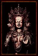 Buddhist Tara Deity Print by Tim Gainey