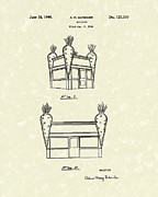 Unusual Drawings Posters - Building 1940 Patent Art Poster by Prior Art Design