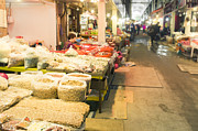 Local Food Photo Prints - Bujeon market in Busan Print by Tuimages