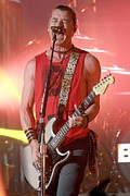 Gavin Rossdale Posters - Bush Poster by Front Row  Photographs