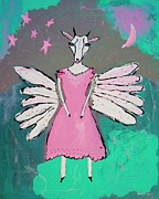 Wings Artwork Mixed Media Prints - Butterfly Print by Venus