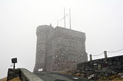 Cabot Prints - Cabot Tower in the fog. Newfoundland. Print by Fernando Barozza