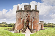 Ruin Photos - Caerlaverock Castle Dumfries and Galloway Scotland by Colin and Linda McKie