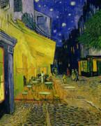 Cafe Terrace Arles Print by Vincent van Gogh