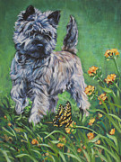 Cairn Terrier Prints - Cairn Terrier Print by Lee Ann Shepard