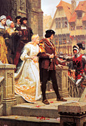 Medieval Paintings - Call to Arms by Edmund Blair Leighton